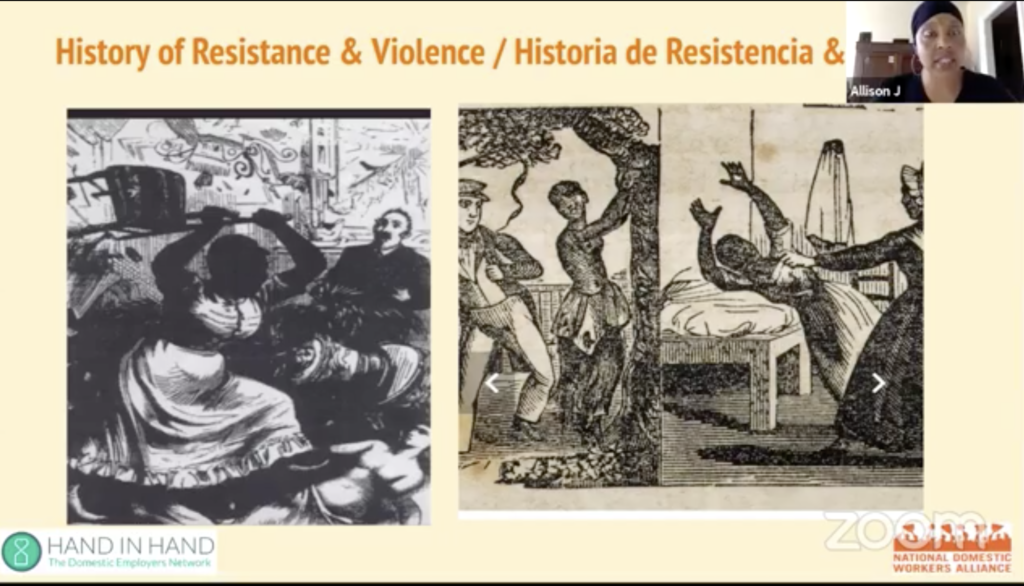 Historical Image depicting violence towards slaves