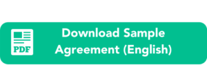 Download Sample Nanny Work Agreement English