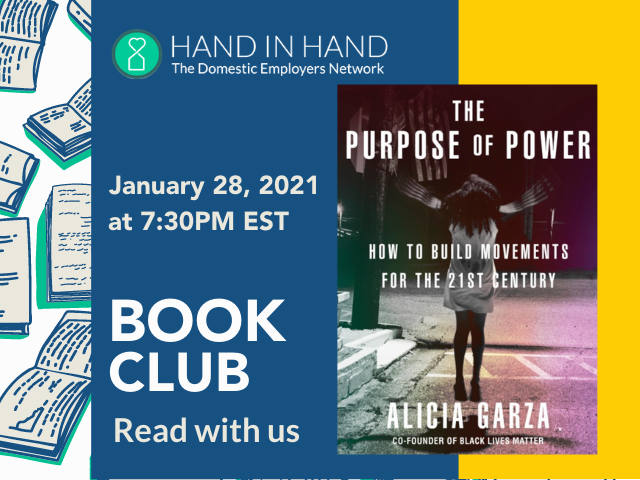 Book Club: Jan 28, 2021 at 7:30 PM EST. The Purpose of Power by Alicia Garze