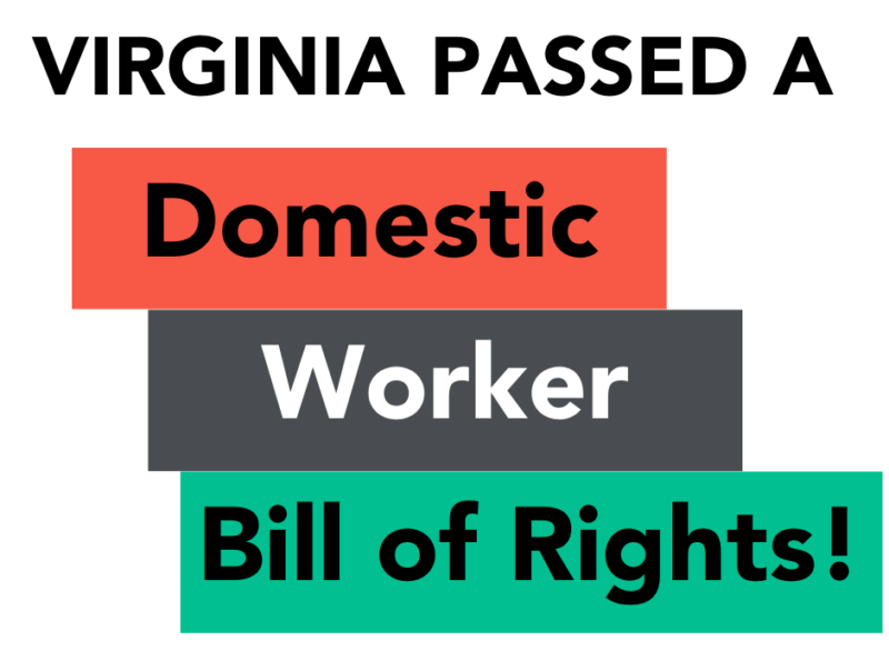 Virginia Passed a Domestic Worker Bill of Rights