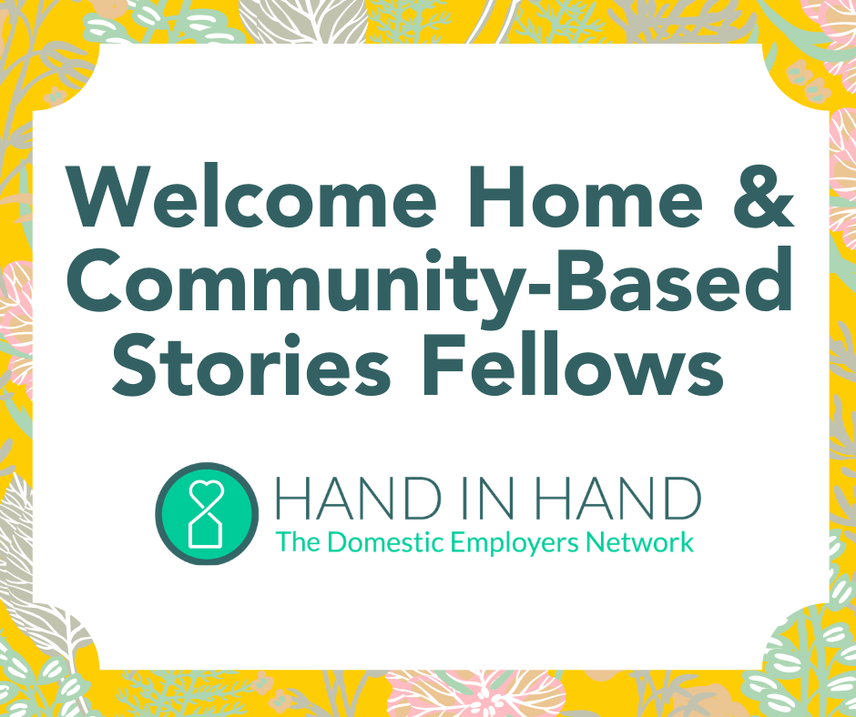 Welcome Home & Community-Based Stories Fellows